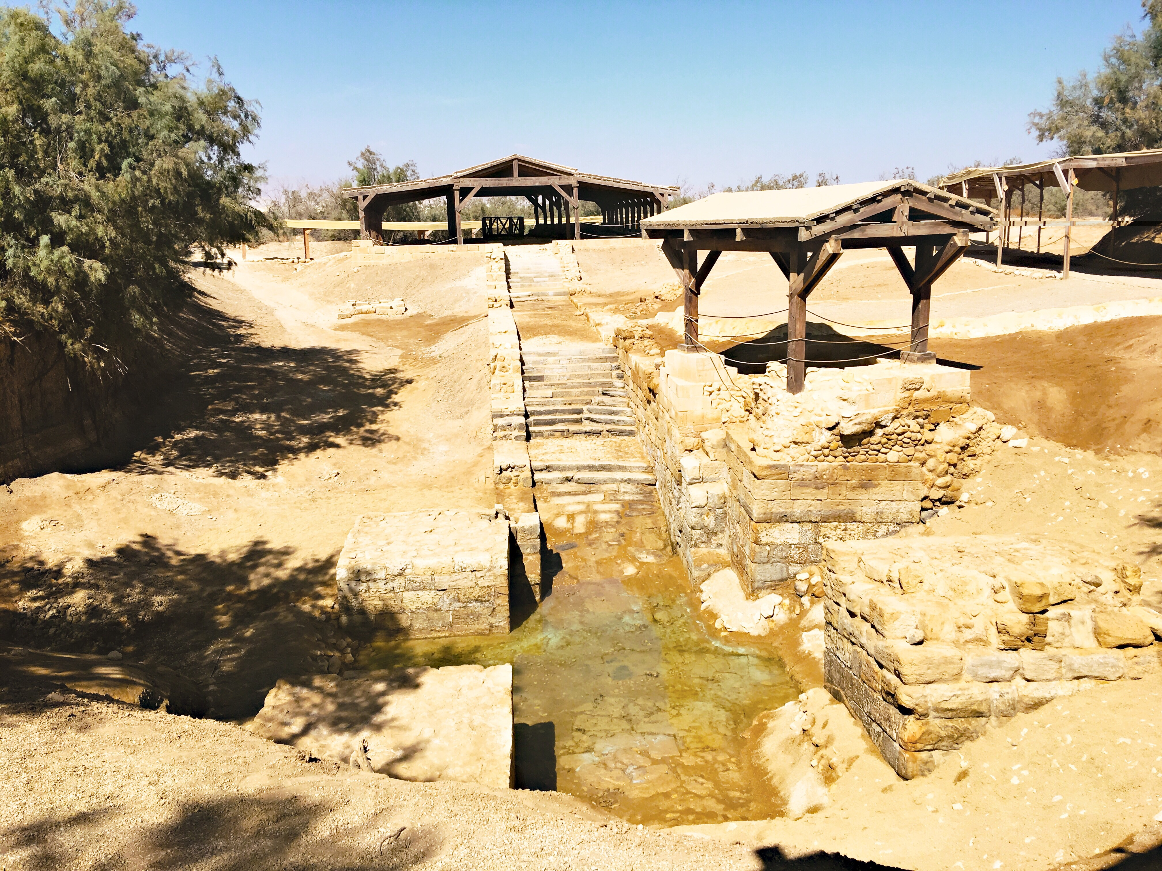 all water is holy when i visited the site of jesus u0027 baptism
