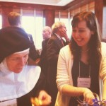 Mother Dolores Hart Discovers Twitter at the Christopher Awards