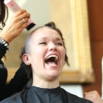 A Young Woman Goes Bald for St. Baldrick's