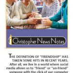 Building the Deep Bonds of Spiritual Friendship