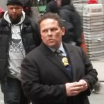 """Person of Interest's"" Fusco and Reese Catching Perps on the Corner"