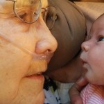 When a 92-Year-Old Woman Met The New Great-Grandchild She Was Praying For