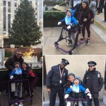 A Disabled Child Finds Joy & Encouragement Around Rockefeller Center Christmas Tree