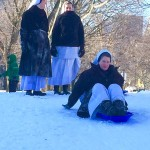 Nuns Go Sledding After the Blizzard