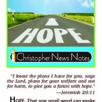 Choose Hope, Share Hope: Finding the Light in Dark Times