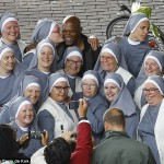 The Day the Nuns Met Samuel L. Jackson and Ryan Reynolds