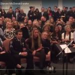 "Phillip Phillips Sings His Hit ""Home"" at Steven McDonald's Wake in Tribute to NYPD Hero"
