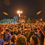 March Madness 2012 in Lawrence, KS.