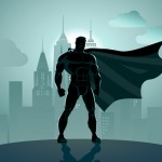 Men, superheroes and church