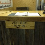 Archery-based church targets men