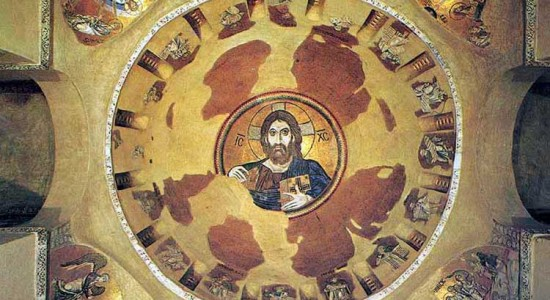 According to Oliver Davies, the image of Christ the Pantocrator has been obscured by the turn to the subject in modern thought, including theology.
