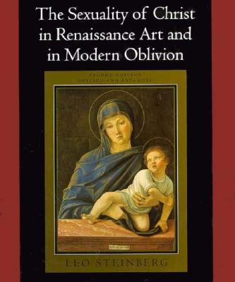 Watch where the right hand of the Madonna is placed upon the cover of Steinberg's famous book.