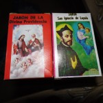 """Road trip finds for mental hygiene. The St. Ignatius soap says the product should be employed, """"Against the Spirit of Evil."""""""