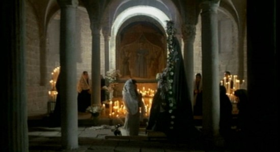 Tarkovsky's Nostalghia features a stunning scene on spirituality and motherhood. Scroll down below to watch it.