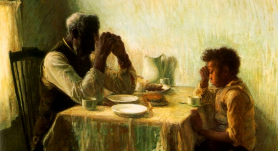 Henry Ossawa Tanner, The Thankful Poor, 1894.