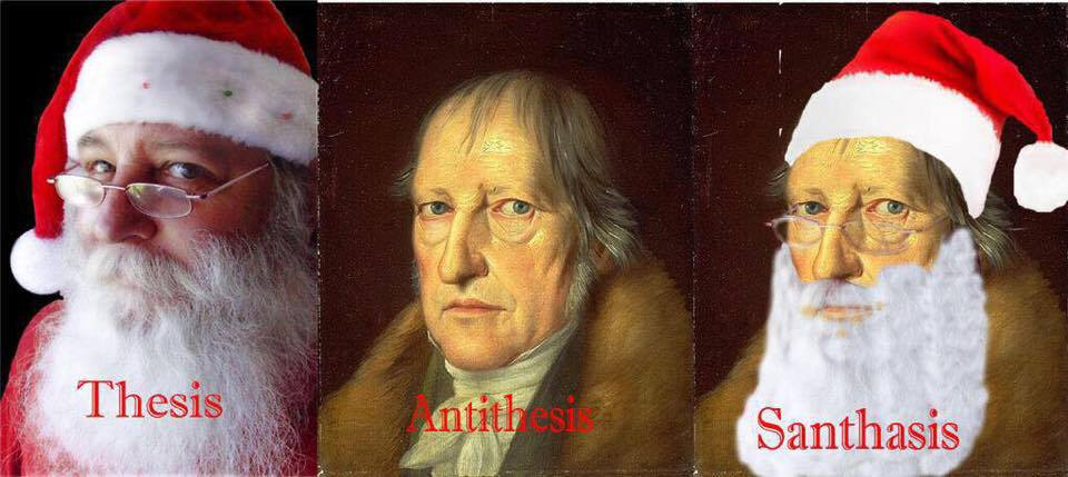 Hegel dialectics thesis antithesis synthesis