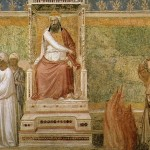 Catholic-Muslim relations haven't always been trials by fire. (Giotto, St. Francis before the Sultan; Source: Wikimedia Commons, PD-Old-100)