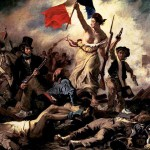 Eugene Delacroix, Liberty Leading the People, 1830; Source: Wikimedia Commons, PD-Old-100)