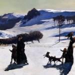 Heartwarming, isn't it? (Rockwell Kent, Snow Fields, 1906; Souce: Wikimedia Commons, PD-Before-1923)