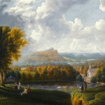 Integral ecology (Robert Havell Jr., View of the Hudson River from Tarrytown, 1866; Source: Wikimedia Commons, PD-Old-100).
