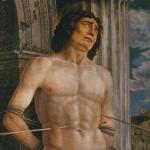 Is martyrdom suffering a crisis? (Andrea Mantegna, St. Sebastian, circa 1480; Source: Wikimedia Commons, PD-Old-100).