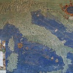 Europe and the States are no longer the center of Christianity (Ignazio Danti, Vatican Map Room - Italy, 1583; Source: Wikimedia Commons, Photographer: Jean-Pol Grandmont, PD-Old-100).