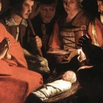 Georges de La Tour was the original Painter of Light (Georges de La Tour, Adoration of the Shepherds, 1644; Source: Wikimedia Commons, PD-Old-100).