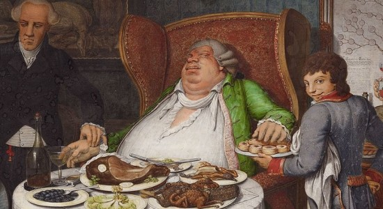 (Georg Emanuel Opiz, The Glutton, 1804; Source: Wikimedia Commons, PD-Old-100).
