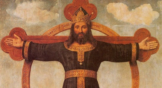 Christus Rex (Piero di Cosimo, Crucifixion of Christ, c. 16th c.; Source: Wikimedia Commons, PD-Old-100).