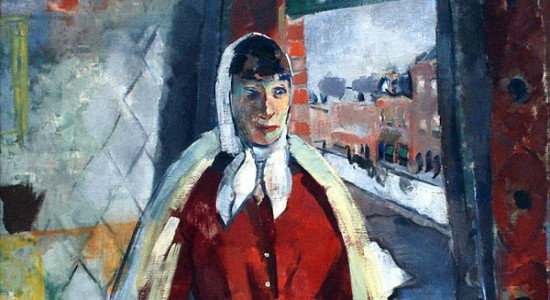 (Rik Wouters, Woman at the Window, 1915; Wikimedia, PD-Old-100_
