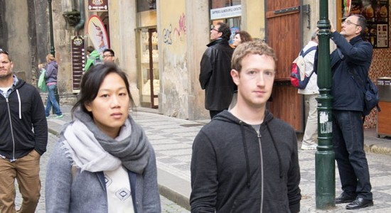 (Lukasz Porwol, Priscilla Chan and Mark Zuckerberg in Prague [detail], 23 May 2013; Source: Wikimedia Commons, CC BY 2.0)