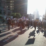 Downtown LA March