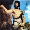 John the Baptist by Titian (1542)