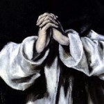 """St Dominic in Prayer"" (subset) by El Greco, 1586–90"