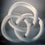Borromean Rings, interlocked only when all three are present