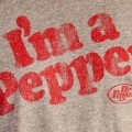 "T-shirt with ""I'm a Pepper"" slogan"