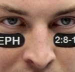 Tim Tebow and eye black