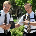 Nice, clean-cut Mormon boys