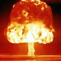 11 megaton thermonuclear bomb test on Bikini Atoll in 1954.