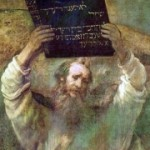 Moses and 10 Commandments