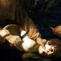 """Sacrifice of Isaac"" (part) by Caravaggio, 1603"
