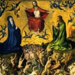 """The Last Judgment"" by Stefan Lochner (1435)"