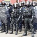 Czech riot police
