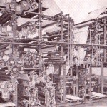 From around 1911, this printing press could print and fold 96,000 16-page newspapers per hour