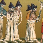 Penance for the Black Death: flagellants in what is now Belgium in 1349