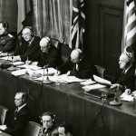 Judges at Nuremburg Trial, 1945