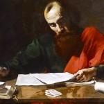 """Saint Paul Writing His Epistles"" (painting, c. 1620)"