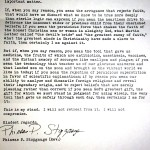 Is This Letter a Powerful Defense of Reason? Or Christian Hypocrisy?