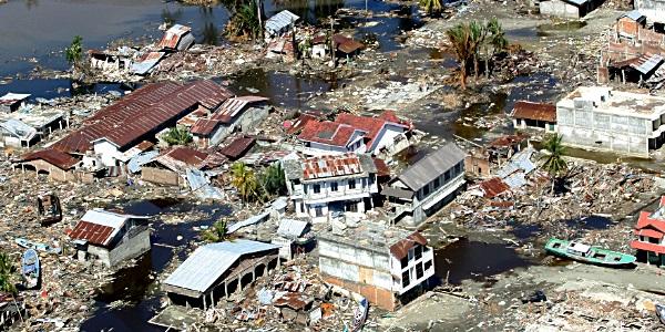 Banda Ache earthquake damage, Indonesia