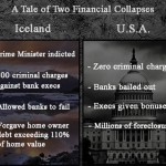 A Tale of Two Financial Collapses: More BS?